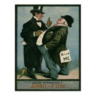 Cartão Postal Cenoura da piada da brincadeira dos cavalheiros