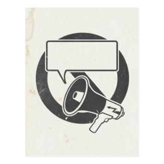 Cartão Postal Censura b/w