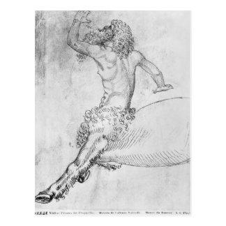 Cartão Postal Centauro, o do álbum de Vallardi