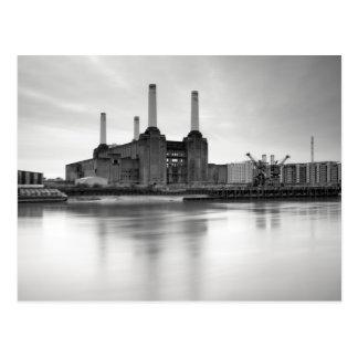 Cartão Postal Central eléctrica de Battersea, Londres