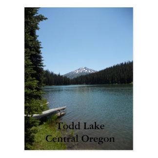 Cartão Postal Central Oregon do lago Todd