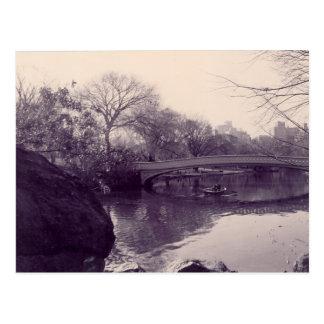 Cartão Postal Central Park, Central Park - NY