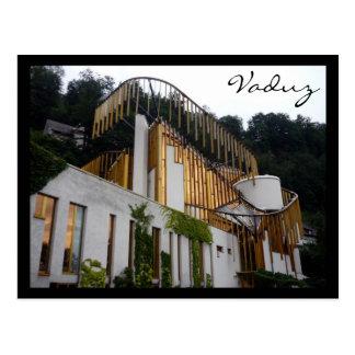 Cartão Postal centro das artes de vaduz