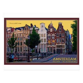 Cartão Postal Centro de Amsterdão-Keizersgracht