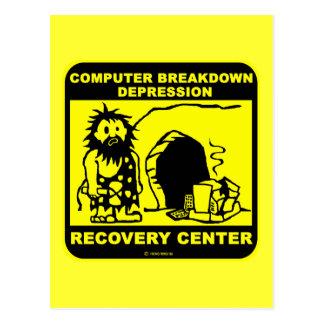 Cartão Postal Centro de convalescentes da depressão da divisão