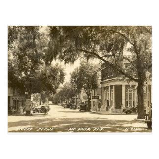 Cartão Postal Centro, montagem Dora, FL - 1947