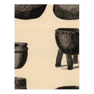 Cartão Postal Cerâmica culinária de Zuni