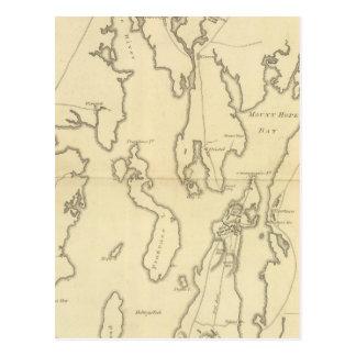 Cartão Postal Cerco de Newport, Rhode - ilha
