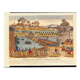 Cartão Postal Cerco de Viena, o 10 de maio de 1809