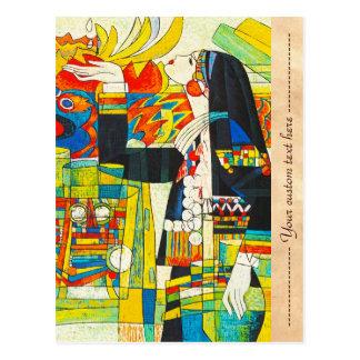 Cartão Postal Cerimónia memorável do sibilo de Hao do dragão de