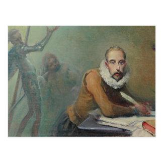 Cartão Postal Cervantes