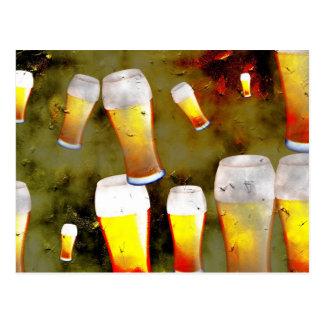Cartão Postal Cerveja do Grunge