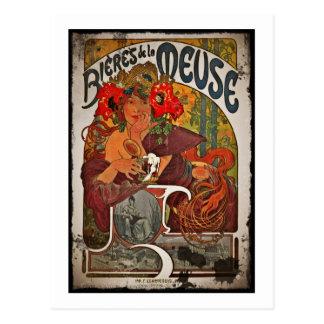 Cartão Postal Cerveja do Meuse
