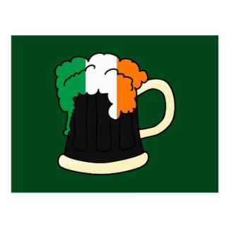 Cartão Postal Cerveja irlandesa