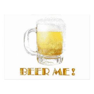 Cartão Postal Cerveja mim!