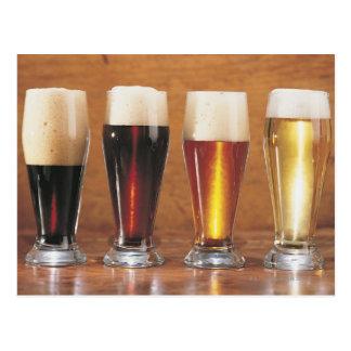 Cartão Postal Cervejas e cervejas inglesas Assorted