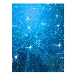 Cartão Postal Céu azul estrelado