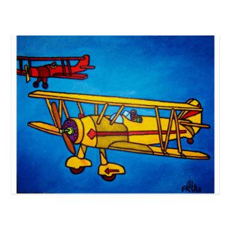 Cartão Postal Céu azul por Piliero