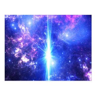 Cartão Postal Céus iridescentes