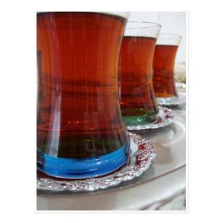 Cartão Postal Chá turco