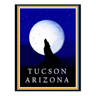 Cartão Postal Chacal de Howlin - arizona de Tucson