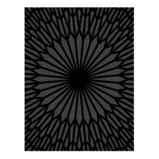Cartão Postal Chakra escuro