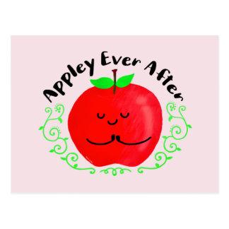 Cartão Postal Chalaça positiva de Apple - Appley sempre em