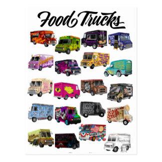 Cartão Postal Chalaças do caminhão da comida