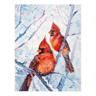 Cartão Postal Chamas do inverno