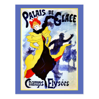 Cartão Postal Champs Elysées de Palais de Glace