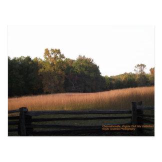 Cartão Postal Chancellorsville, Virgínia