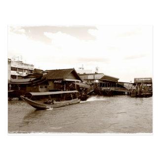 Cartão Postal Chao Phraya River