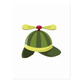 Cartão Postal Chapéu de Helcopter