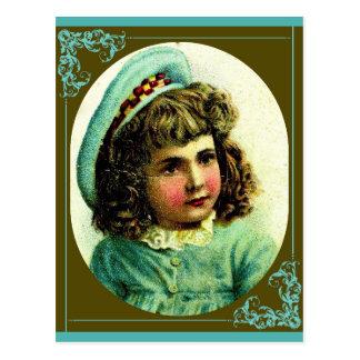 Cartão Postal Chapéu náutico