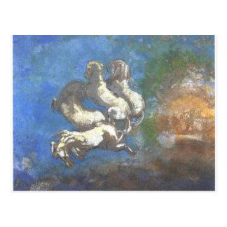 Cartão Postal Chariot de Apollo