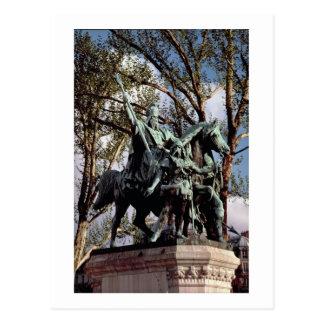 Cartão Postal Charlemagne (Carolus Magnus, Charles o excelente)