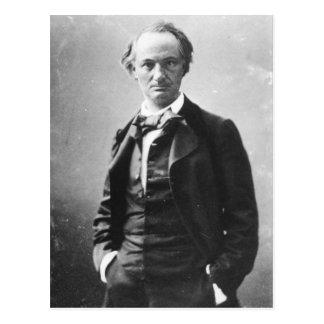 Cartão Postal Charles Baudelaire