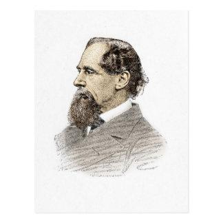 Cartão Postal Charles Dickens