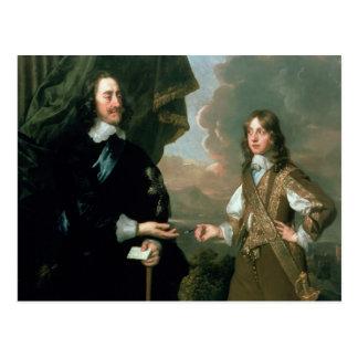 Cartão Postal Charles mim e James, duque de York, c.1647