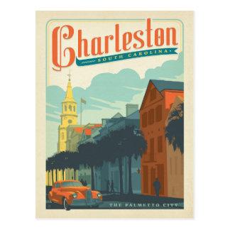 Cartão Postal Charleston, SC - a cidade do Palmetto