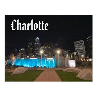 Cartão Postal charlotte