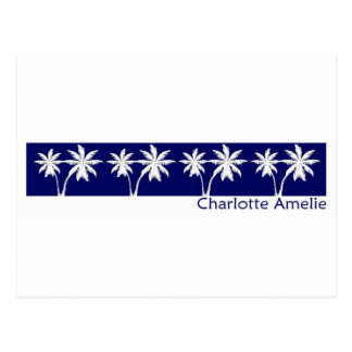 Cartão Postal Charlotte Amelie, U.S.V.I.