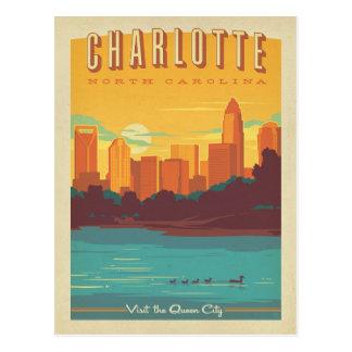 Cartão Postal Charlotte, NC
