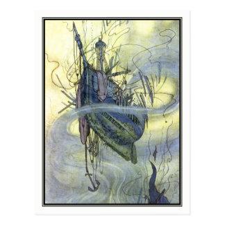 Cartão Postal Charneca Robinson de William - Shipwreck do