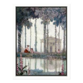 Cartão Postal Charneca Robinson de William - um sonho de noite