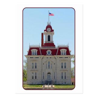 Cartão Postal Chase County, Kansas, tribunal