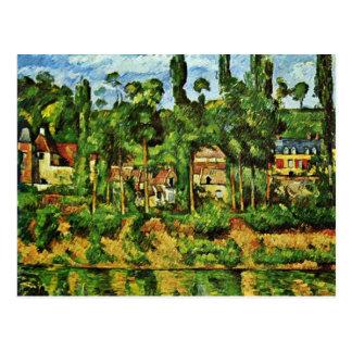 Cartão Postal Château De Médan Paul Cézanne (a melhor qualidade)