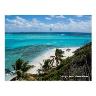 Cartão Postal Chaves de Tobago, Grenadines