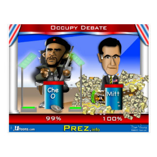 Cartão Postal Che O e Romney