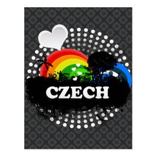 Cartão Postal Checo frutado bonito